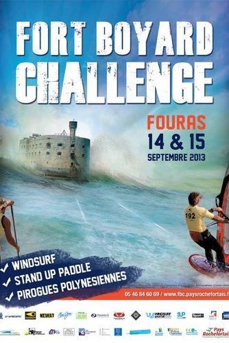 Affiche Fort Boyard Challenge 2012