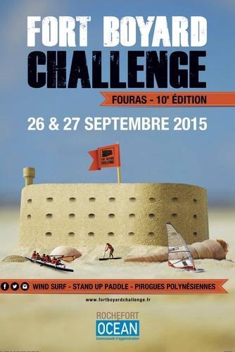 Affiche Fort Boyard Challenge 2015