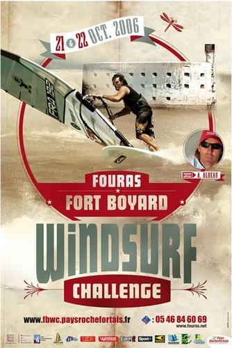 Affiche Fort Boyard Windsurf Challenge 2006