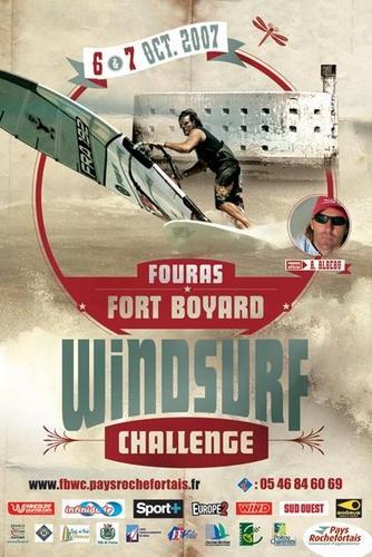 Affiche Fort Boyard Windsurf Challenge 2007
