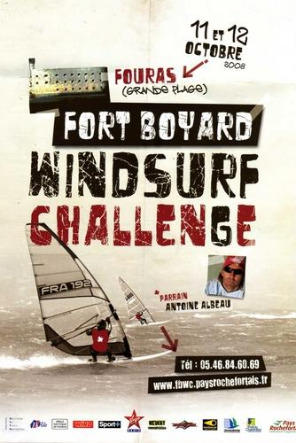 Affiche Fort Boyard Windsurf Challenge 2008