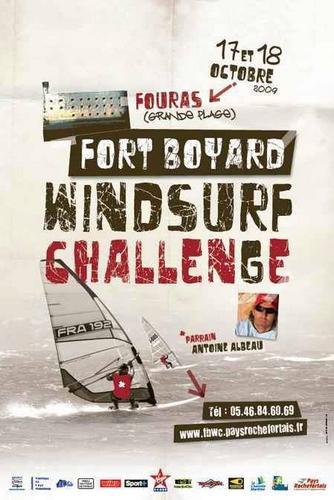 Affiche Fort Boyard Windsurf Challenge 2009