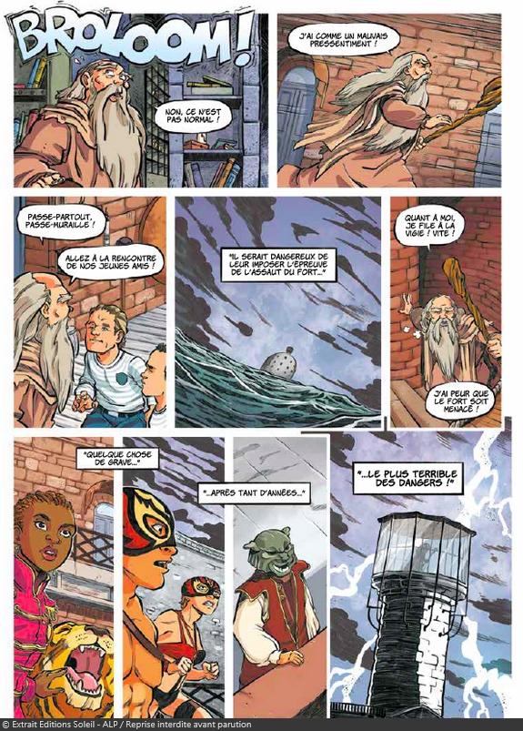 Une planche de la bande-dessinée en avant-première / Dès le 6 juillet 2016