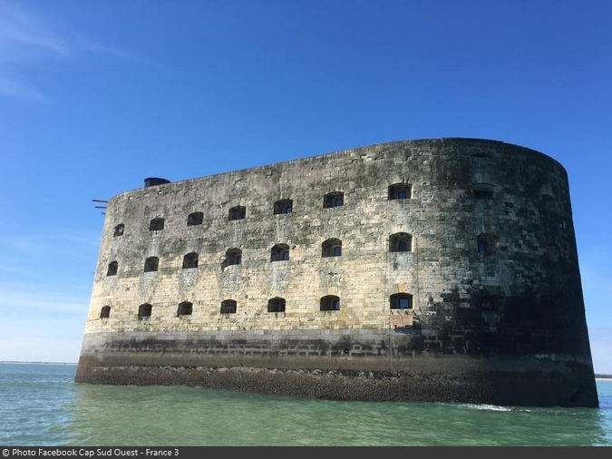 Tournage de Cap Sud Ouest au Fort Boyard (le 5 juin 2016 à 12h55 sur France 3)