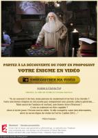 Page d'accueil du concours