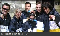 Fort Boyard 2001 - Équipe 10 - Frédéric Lopez (25/08/2001)