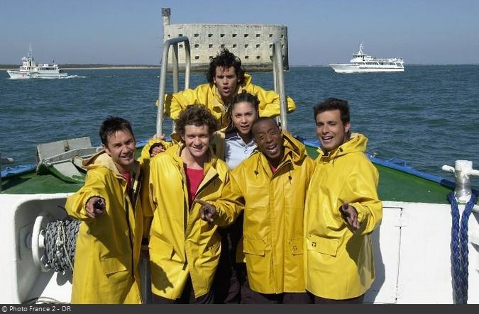Fort Boyard 2002 - Équipe 4 - Bruno Salomone (20/07/2002)
