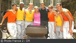 Fort Boyard 2003 - Équipe 2 - Djbril Cissé (05/07/2003)