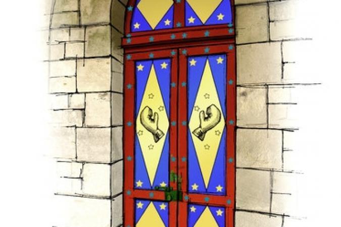 Fort Boyard 2011 - Dessin de la porte du Ring