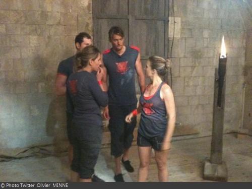 Fort Boyard 2011 - Les candidats lors des tournages
