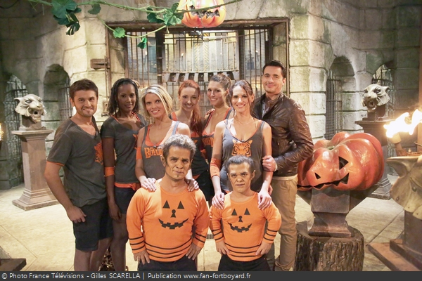 Fort Boyard 2012 - Équipe 9 - Miss France / Halloween (31/10/2012)