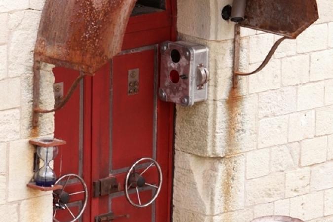 Fort Boyard 2012 - La porte de l'Alerte rouge