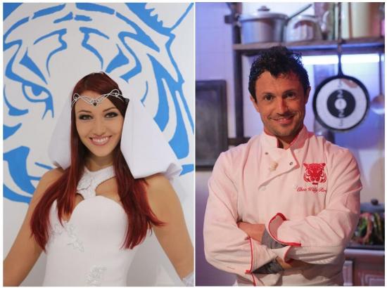 Fort Boyard 2013 : Delphine WESPISER sera Blanche et Willy ROVELLI le nouveau cuisinier du Fort