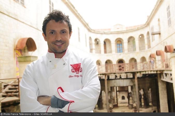 Fort Boyard 2013 - Willy, le Cuisinier (Willy ROVELLI)