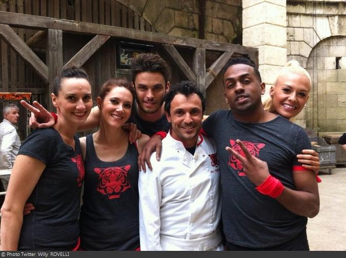 Fort Boyard 2013 : L'équipe de Bastipte Giabiconi (04/06/2013)
