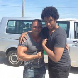 Fort Boyard 2013 : Stephan Rizon et Mister Boo (06/06/2013)