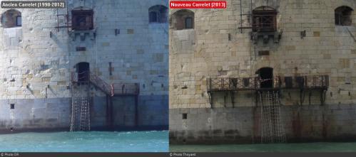 Fort Boyard 2013 : Le nouveau Carrelet (07/05/2013)