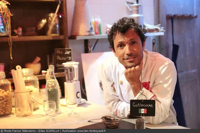Fort Boyard 2014 - Le cuisinier Willy ROVELLI dans son restaurant
