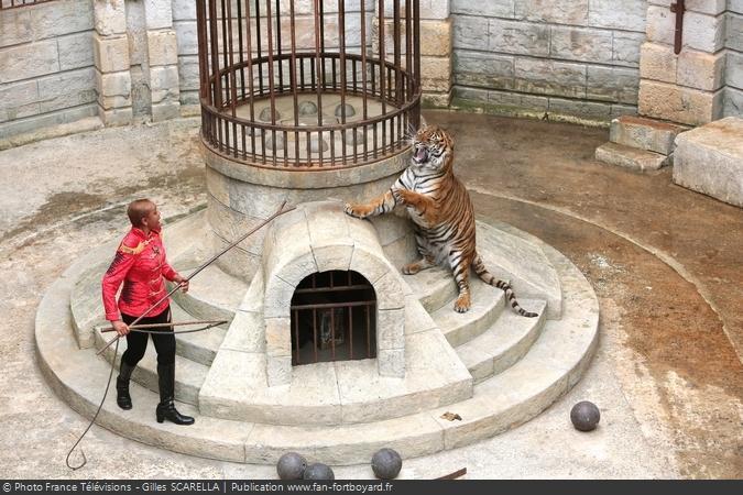 Fort Boyard 2014 - Félindra et les tigres