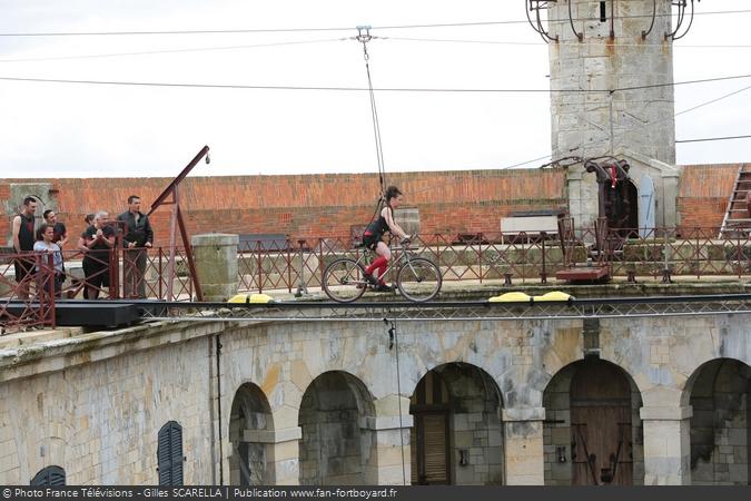 Fort Boyard 2014 - L'épreuve du Vélo