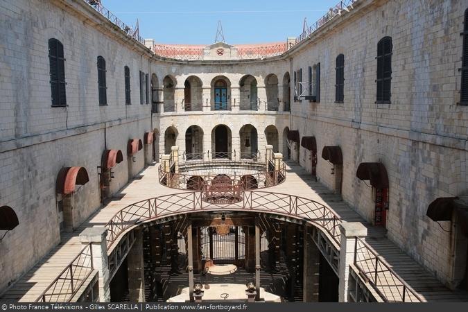 Fort Boyard 2014 - La cour intérieure