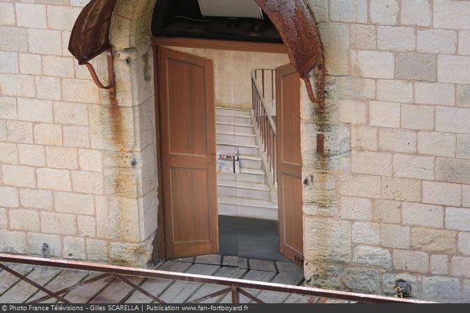 Fort Boyard 2014 - La porte de l'épreuve de la Salle des illusions