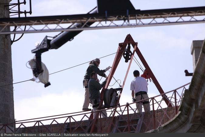 Fort Boyard 2014 - Antoine MARCON, le responsable sécurité des épreuves aériennes