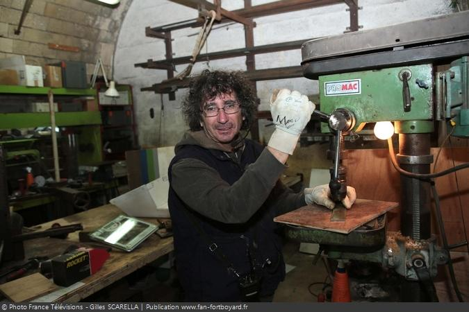 Fort Boyard 2014 - Manu BLANQUET, le chef constructeur