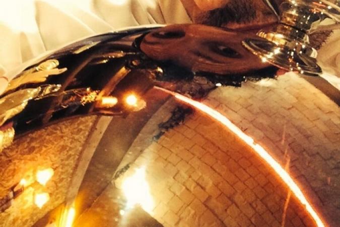 Fort Boyard 2014 : Willy ROVELLI dans son restaurant (30/05/2014 - W. Rovelli)