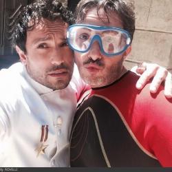 Fort Boyard 2014 : Willy ROVELLI et Florian GAZAN (30/05/2014 - W. Rovelli)