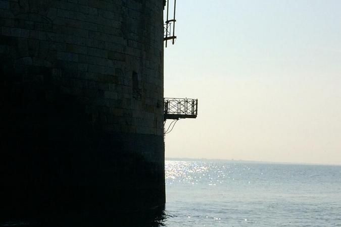 Fort Boyard 2014 : Nouvelle journée sur le fort (02/06/2014 - O. Minne)