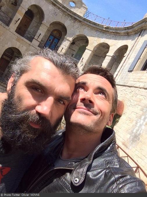 Fort Boyard 2014 : Olivier et Sébastien CHABAL (02/06/2014 - O. Minne)