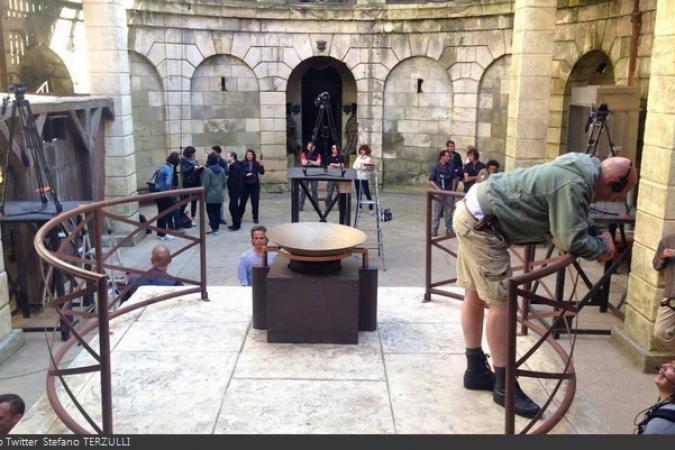 Fort Boyard 2014 : Le tournage se prépare (03/06/2014 - S. Terzulli)
