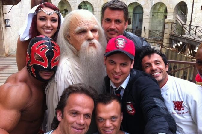Fort Boyard 2014 : Selfie des personnages 2014 (28/06/2014)