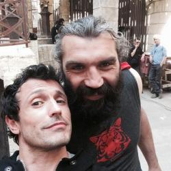 Fort Boyard 2014 : Sébastien CHABAL et Willy ROVELLI (19/07/2014)