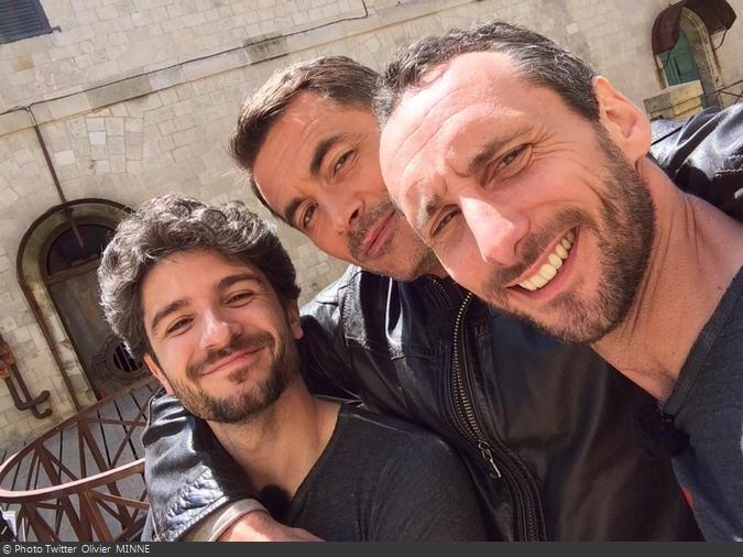 Fort Boyard 2014 : Vérino, Arnaud COSSON et Olivier MINNE (19/07/2014)