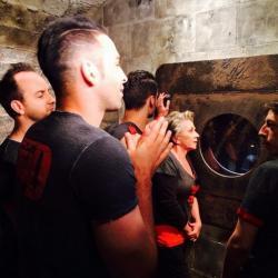 Fort Boyard 2014 : L'équipe 6 dans le Pré-Conseil (02/08/2014)