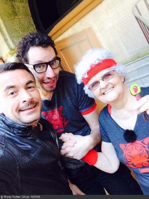 Fort Boyard 2014 : Olivier MINNE, Manu LEVY et Lucienne MOREAU (09/08/2014)