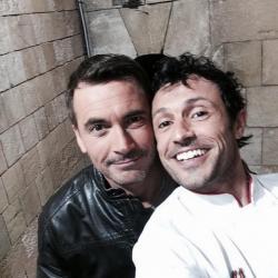 Fort Boyard 2014 : Olivier MINNE et Willy ROVELLI (09/08/2014)