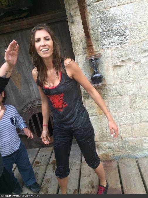 Fort Boyard 2014 : Alexandra ROSENFELD (16/08/2014)