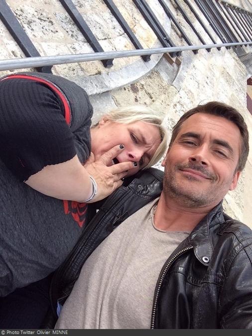 Fort Boyard 2014 : Valérie DAMIDOT et Olivier MINNE (16/08/2014)