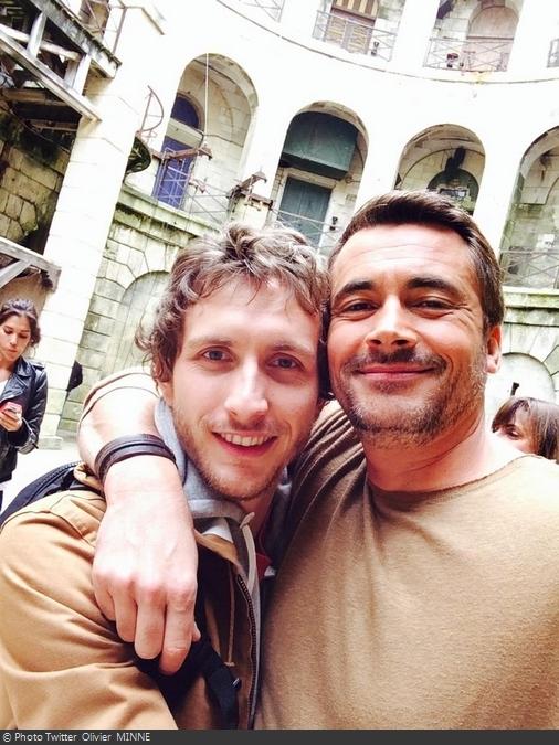 Fort Boyard 2014 : Baptiste LECAPLAIN et Olivier MINNE (30/08/2014)