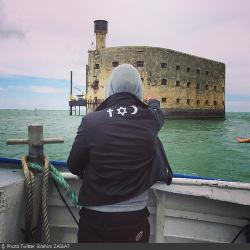 Fort Boyard 2014 : L'arrivée au fort (26/05/2014 - B. Zaibat)