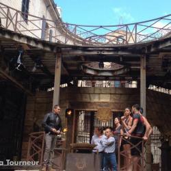 Fort Boyard 2014 : Tournage de la fin de l'émission 2 (27/05/2014 - J. Tourneur)