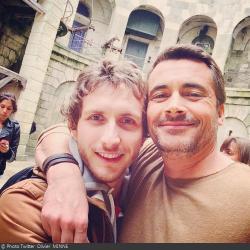 Fort Boyard 2014 : Olivier et Baptiste LECAPLAIN (29/05/2014 - O. Minne)