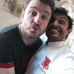 Fort Boyard 2014 : Willy et Bruno GUILLON (29/05/2014 - W. Rovelli)