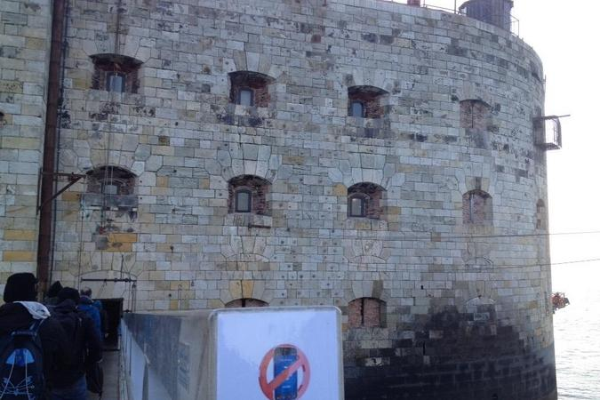 Fort Boyard 2015 : Arrivée au Fort (22/05/2015)