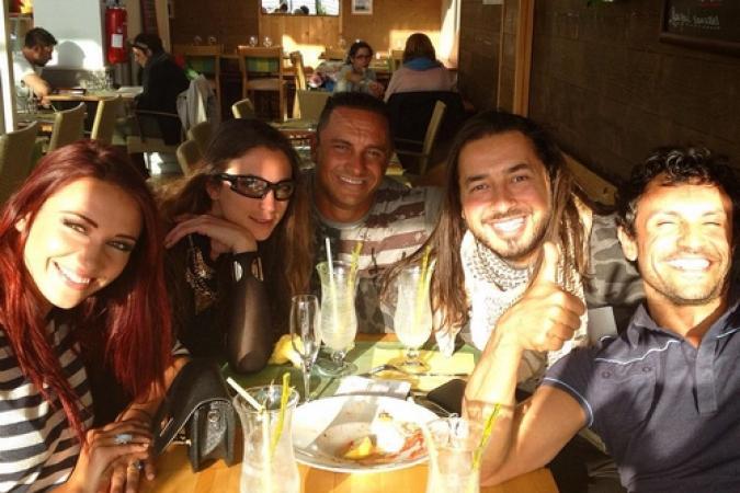 Fort Boyard 2015 : Apéro des personnages après une journée de tournage (22/05/2015)