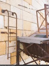 Fort Boyard 2015 : Entrée du tunnel des Eaux usées (04/06/2015)