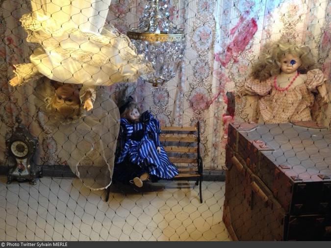 Fort Boyard 2015 : Décor d'une cellule (11/05/2015)